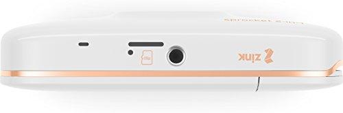 HP Sprocket Portable Printer white White 5 x 7,6 cm