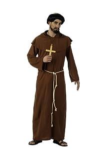 Limit Sport - Disfraz de monje franciscano medieval, para adultos, talla L (MA226)