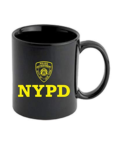 T-Shirtshock Tasse 11oz Schwarz DEC0233 NYPD Police Department City of New York
