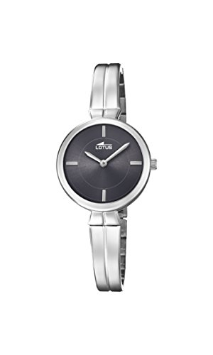Lotus Watches Womens Analogue Classic Quartz Watch with Stainless Steel Strap 18439/2