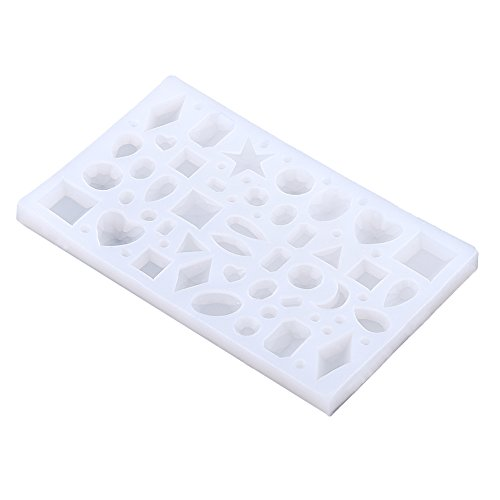 1pc joyas hacer molde silicona hornear silicona
