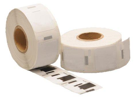 S0929120 5 x Kompatible Adressaufkleber-Rolle, 25 mm x 25 mm, 750 Etiketten pro Rolle)