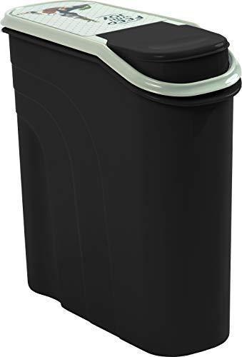Rotho 4550310536 Aufbewahrungsbox für Tierfutter aus Kunststoff (PP) - Filo Trockenfutter-Schüttdose für Hunde, Katzen, Vögel, Fische und andere Kleintiere - Volumen 6 Liter