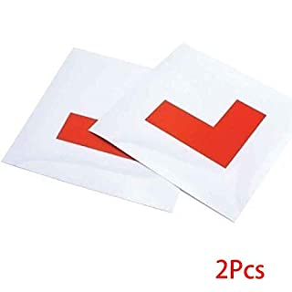 Aiming 2ST Antriebs Learners L Plates New Learner Treiber magnetischen Aufkleber Driving Test-Bindung magnetischen Aufkleber