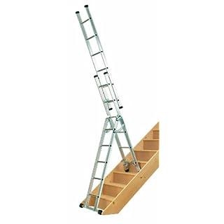 Abru 4 Way Combination Ladder, Heavy Duty 150Kg Load Capacity, BS EN131 certification, 5 Year Guarantee