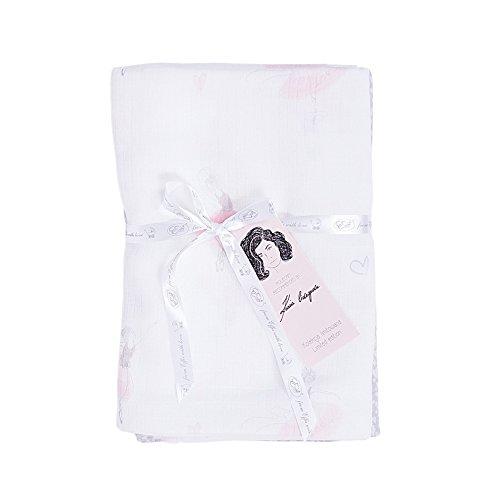 Effii 13-16 Ballerinas- Herzen swaddle 70 x 70 Limited Edition