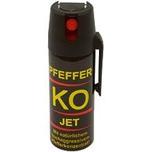 Ballistol Verteidigungssprays Pfeffer KO Jet, 50 ml, 24430, im Blister