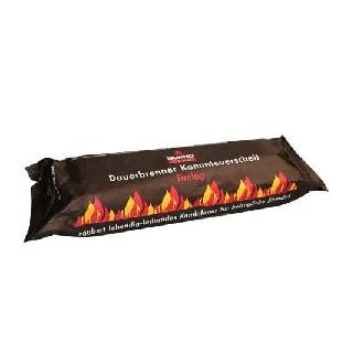 ESW-Spar-Set 60 Stück (6 Kartons a. 10 Stück) KaminoFlam, Kaminfeuer Dauerbrenner Kaminfeuerscheit, Brennstoff für Kaminofen, Holzofen, Kachelofen