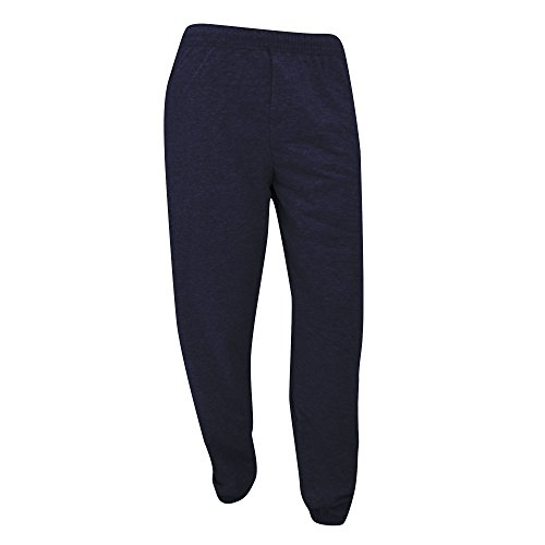 Fruit Of The Loom - Pantaloni Sportivi Stretta in Caviglia - Uomo (M) (Blu scuro)