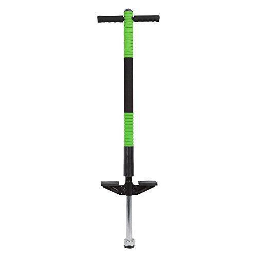 Pogo Stick, Bâton Sauteur avec Patin Antidérapant pour Enfant de 7 à 12 Ans, Charge Max 30kg (Vert)
