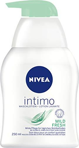 Nivea Intimo Mild Fresh Waschlotion, für den Intimbereich, 4er Pack (4 x 250 ml)