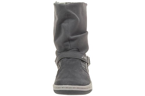 Asics Meriki suede Sneaker Lifestyle grey padded winter boots grau