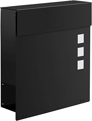 Frabox Design Briefkasten NAMUR EXKLUSIV Stahl lackiert, RAL 7016 Anthrazitgrau - 5