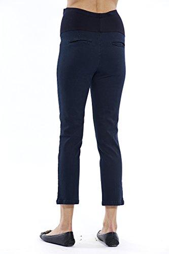 motherway - Pantalon spécial grossesse - Chino - Femme Bleu