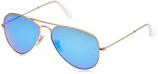 Ray-Ban Aviator Metal - Lunettes de soleil - Uni - Homme - Or (Gold)/Bleu/Vert - Large (Taille fabricant: 58) (B009CG2A5Q)   Amazon price tracker / tracking, Amazon price history charts, Amazon price watches, Amazon price drop alerts
