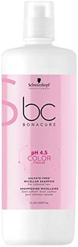 Schwarzkopf Professional Bonacure PH4.5 Color Freeze Shampoo, 1L