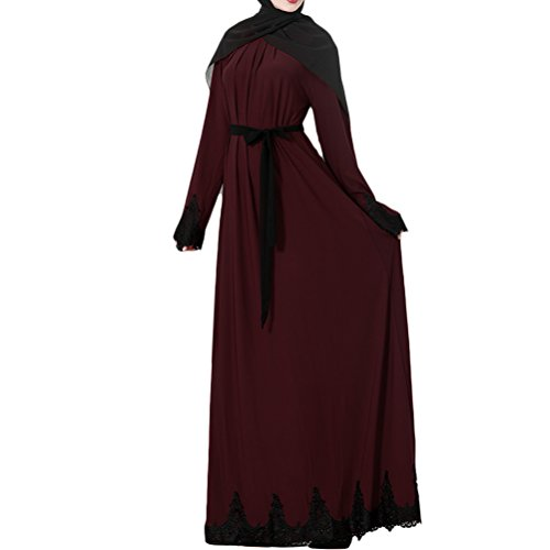Zhuhaitf Fashion Muslims Style Abaya Türkisch Dubai Indien Abendkleid Kaftan Kleider Maxikleid für...