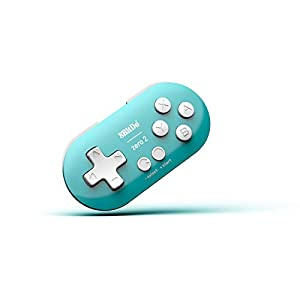 8Bitdo Zero 2 Bluetooth Gamepad For Switchpcmacosandroid (Turquoise Edition) [