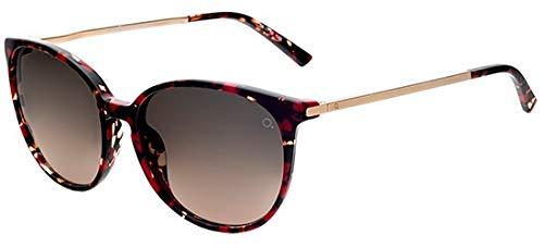 Etnia barcelona occhiali da sole icaria red havana/grey brown shaded donna