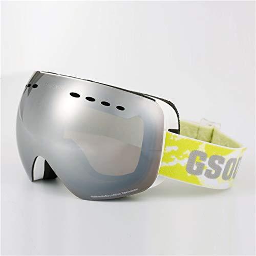 Ski Brille Doppel Anti-Fog Khika Myopie Outdoor Klettern Wind Brille Skibrille (Farbe : G)