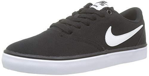 info for e0400 66f1a Nike SB Check Solar CNVS, Chaussures de Sport garçon, Noir (Black White
