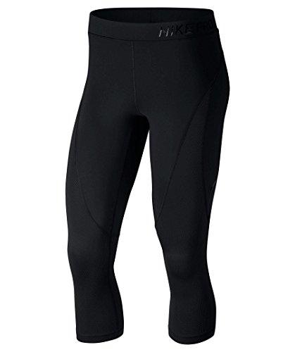 Nike Damen Pro Hypercool Capri 3/4 Tight black/Clear