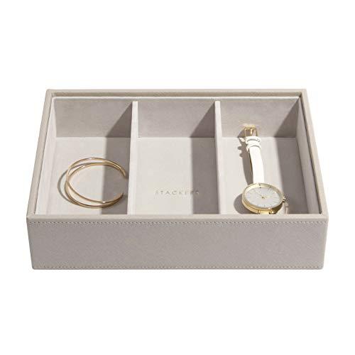 Stackers Taupe Klassisch Schmuckfach für Uhren/Accessoires