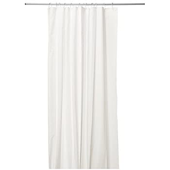 Duschvorhang Ikea ikea eggegrund duschvorhang in weiß 180x200cm amazon de küche