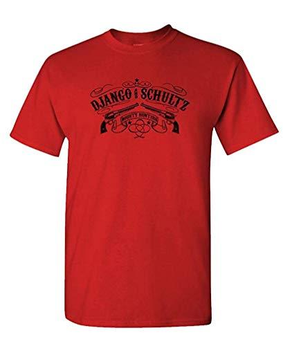 Django Kostüm - Django Schultz Bounty Hunters - Movie - Mens Cotton T-Shirt L