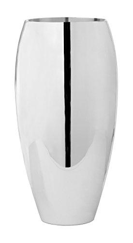 Fink Africa Bodenvase,versilbert D.21cm,H.40cm