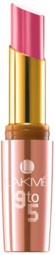 Lakme 9 to 5 Matte Lip Color, Pink Ambition MP13, 3.6 g