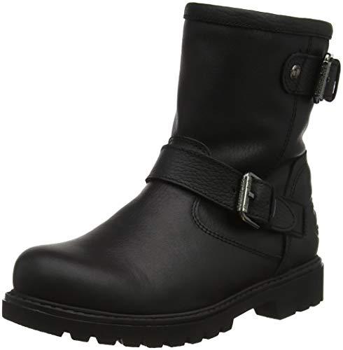 Panama Jack Damen Felina Igloo Biker Boots, Schwarz (Negro B18), 41 EU