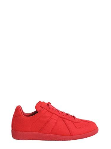 Maison Margiela Damen S39ws0008s48434309 Rot Wolle Sneakers
