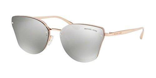 Michael kors sanibel 32466g 58, occhiali da sole donna, rosa (milky pink)