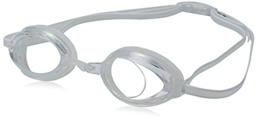 Speedo Junior Vanquisher 2.0 Swim Swimming Competition Goggles - Clear