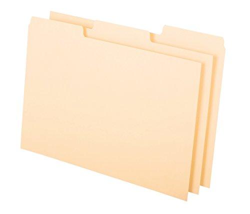 Oxford Karteikarte Guides mit blanko Taben, 12,7x 20,3cm, 1/3Cut Taben, Manila, 100Pro Box (513BUF) (Rezept Card Box)