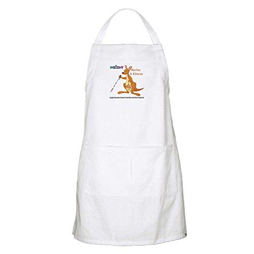 rioengnakg Custom série Kangourou Cuisine Tablier pour Adulte Blanc