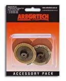 Best 4 Grinders pezzi - Arbortech Mini Grinder Sanding Pads 50 mm Review