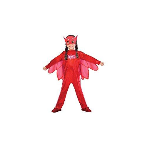 Costume da Owlette per maschere PJ di taglia per bambini Large (7-8 years)