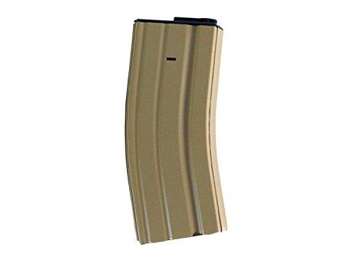 BEGADI Universalmagazin Typ 4 - M4 / M16 LowCap Magazin (68 BBs) für Airsoft (S)AEGs - TAN