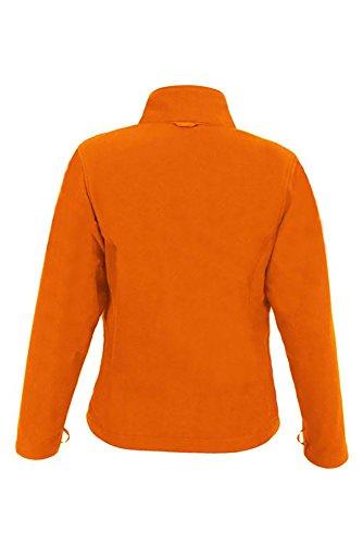 Veste polaire légère femme C+ Orange