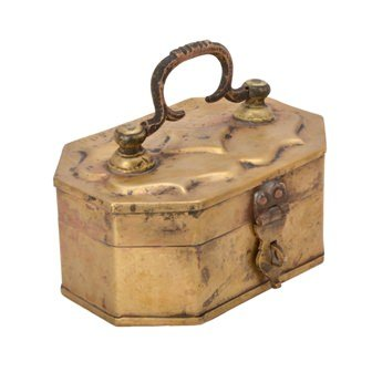Decorative Brass Old Pan Box Handicrafts Product By VyomshopTMBh05623 Pan-box