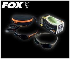3fef542ad56 Fox Vario Polarised Sunglasses Black   Orange All good anglers know that a  pair of top quality sunglasses are as essential to your carp fishing and  your rod ...