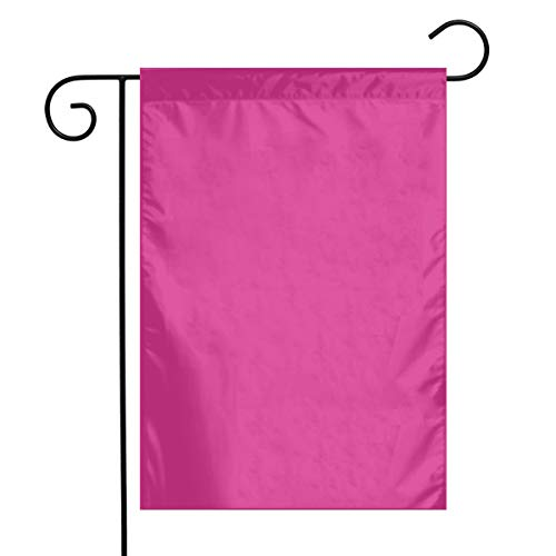 Dama Home Aztekischer Frühling - Pink-Kunst-Garten-Flaggen-Yard-Flagge 12