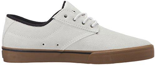 Etnies JAMESON VULC, Chaussures de Skateboard homme Blanc - Weiß (109/WHITE/GUM/BLACK)