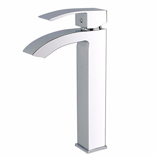 YSRBath Moderne Waschbecken Waschtischarmatur Antike Square Heiße und Kalte Voll Kupfer Quad Breite zu Mischbatterie Bad Küche Wasserhahn Badarmatur