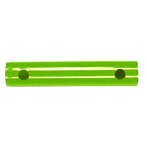 Moveandstic Rohr 25 cm Auswahl zur Erweiterung von Klettergerüst und Spielturm (apfelgrün)