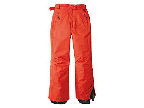 Damen Skihose Snowboardhose Schneehose Rot (40)