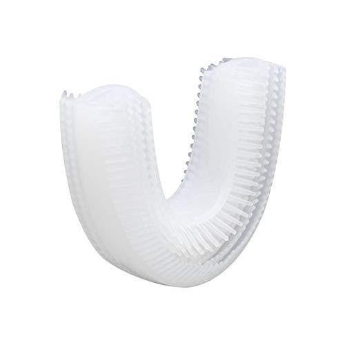 HS-WANG01 Zahnreiniger Elektrische Reinigungsbürste Kopf U-förmigen Silikonhülsen Elektrische Reinigungsbürste Beauty Brush Zubehör Hosenträger