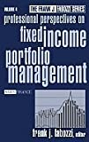 Fixed Income Portfolio Management by H. Gifford Fong (1985-01-02)